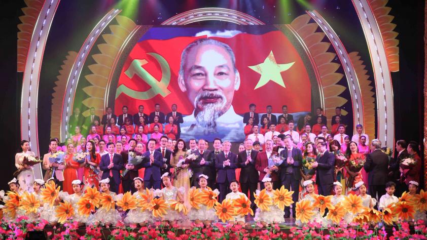 Mùa xuân dâng Đảng