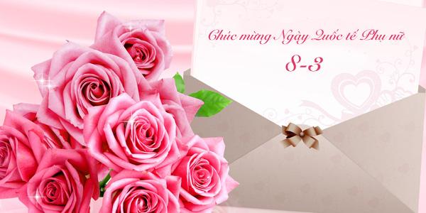 Chúc mừng ngày quốc tế phụ nữ 08/03/2020