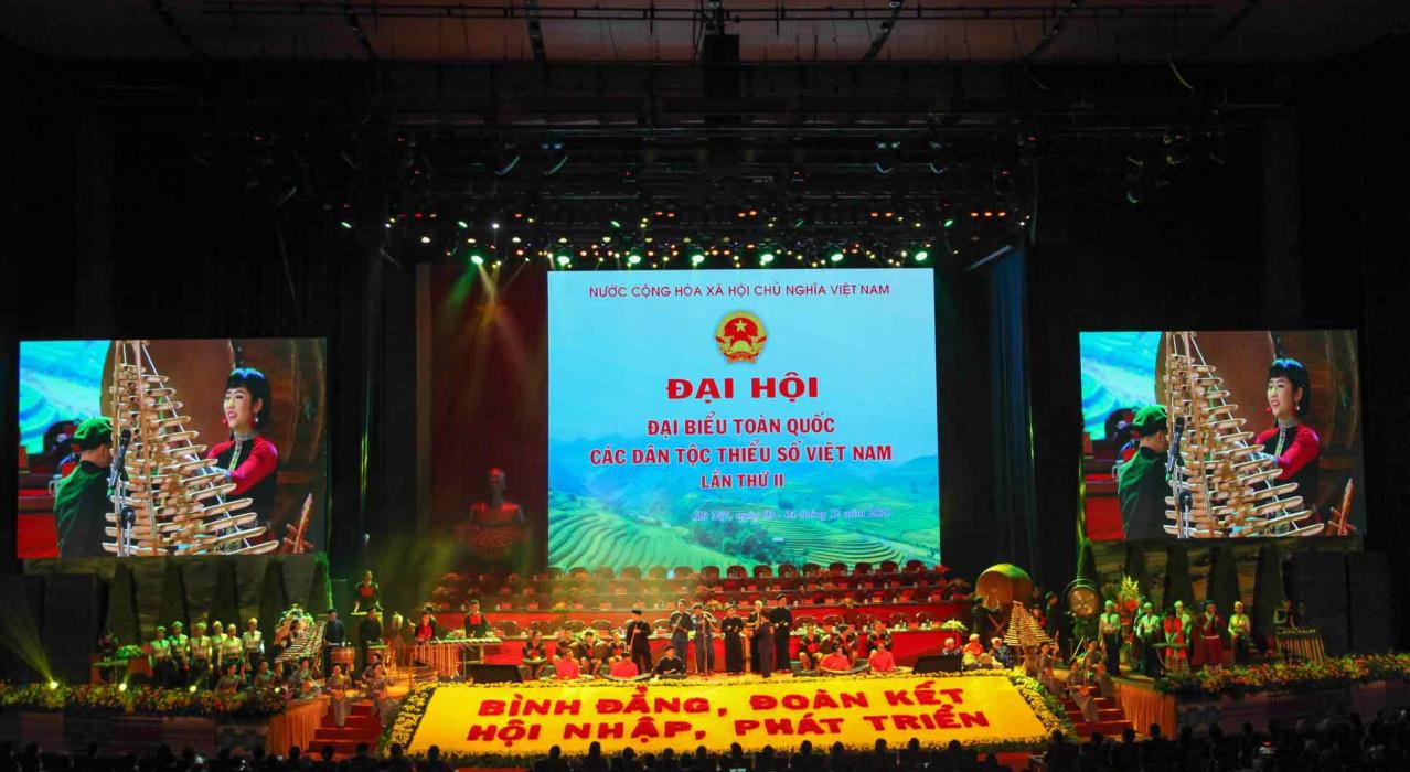 Lễ khai mạc Đại hội Đại biểu toàn quốc các dân tộc thiểu số Việt Nam lần II