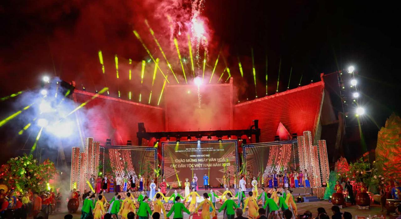 Chào mừng ngày Văn hóa các dân tộc Việt Nam năm 2021